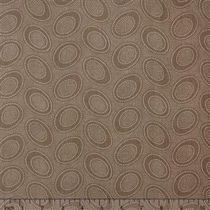 Free Spirit Kaffe Fassett Fabric - Aboriginal Dot Taupe