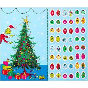 "Robert Kaufman How the Grinch Stole Christmas! 35.5""/ 90cm Panel"