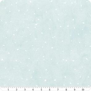 Clothworks Guess How Much I Love You - Snow Dots - MINT