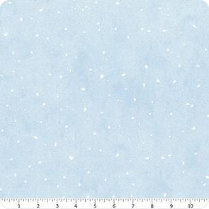 Clothworks Guess How Much I Love You - Snow Dots - BLUE