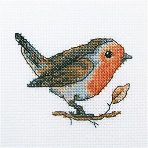 RTO  Cross Stitch Kit: Redbreast Bird