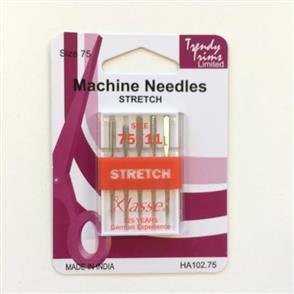 Trendy Trims Machine Needles Stretch