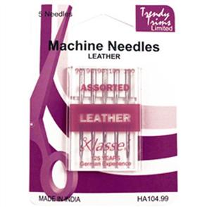 Trendy Trims Machine Needles Leather