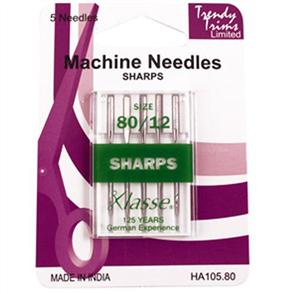 Trendy Trims Machine Needles Sharps