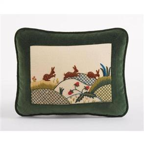 Crewel Work Company Needlework Kit: Rabbits at Dawn Kit