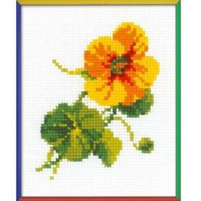 Riolis  Nasturtium - Cross Stitch Kit
