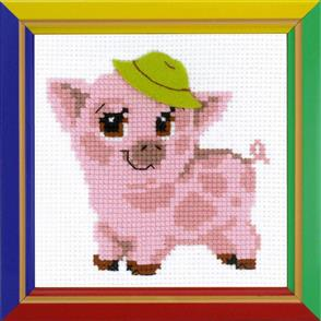 Riolis  Piglet - Cross Stitch Kit
