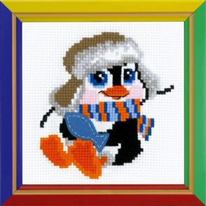 Riolis  Penguin - Cross Stitch Kit