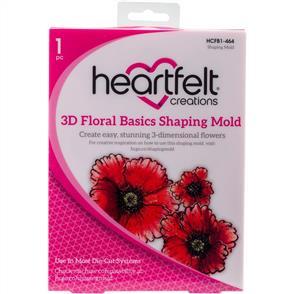 Heartfelt Creations Shaping Mold - 3D Floral Basics