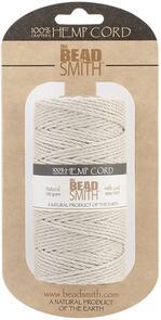 The Beadsmith Hemp Cord - Natural 48lb