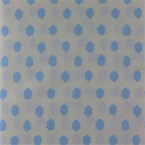 Handworks Fabric  - Homey Collection - 13060 Blue on White