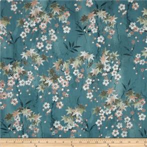 Hoffman Fabric  - Kotori - 7412 Aqua