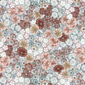 Hoffman Fabric  - Kotori - 7414 Sky