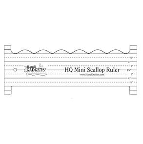 Handi Quilter Mini Scallop Ruler