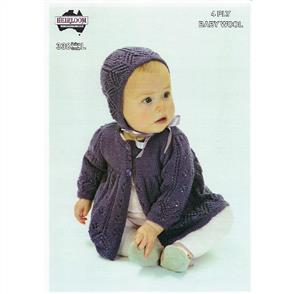 Heirloom Pattern 338 - Jacket and Bonnet