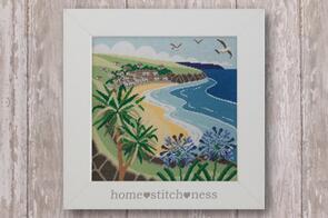 Home.Stitch.Ness  Beside the Sea - Cross Stitch Pattern