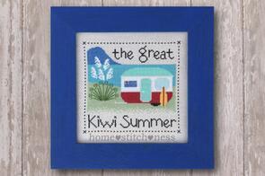 Home.Stitch.Ness  The Great Kiwi Summer - Cross Stitch Pattern