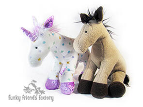 Funky Friends Factory Horsey Horse Toy Sewing Pattern
