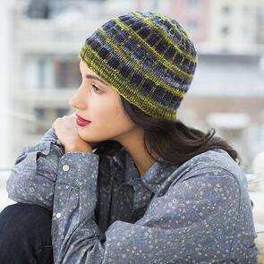 Malabrigo Hudson Yards - Windowpane Hat