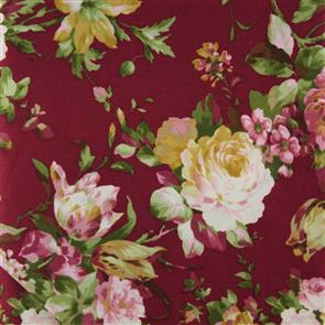 In the Beginning Fabrics  - Julianna - Florals Plum