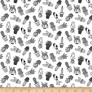 Blank Quilting  Domino Effect - Cactus White