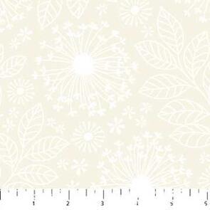 Northcott  Simply Neutral - Wildflowers Cream 22141-11