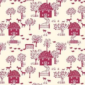 Liberty  - Cottage Garden - 5616X