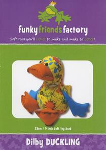 Funky Friends Factory Dilby Duckling Toy Sewing Pattern