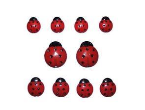 Dress It Up Embellishments - Ladybugs