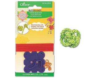 Clover  Asian Knot - Button Knot Template