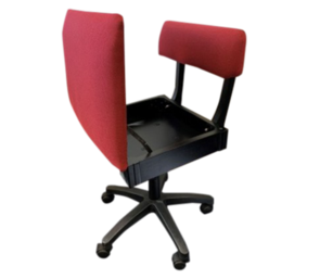 Horn Sewing Chair - Red