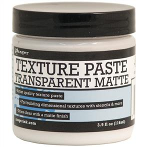 Ranger Ink Texture Paste 4oz - Ranger - Transparent Matte