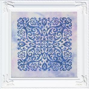 Ink Circles  Blue Velvet