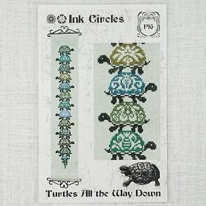 Ink Circles  Turtles All the Way Down