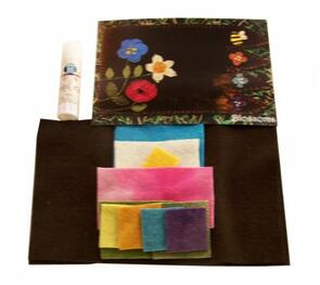 Georgina Jane Designs In the Patch Designs Mug Rug Blossoms Kit