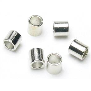 Cousin Jewelry Basics Silver Crimp Tubes 2mm 500/Pkg