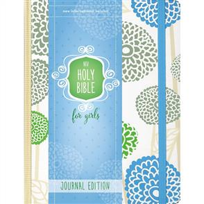 NIV Holy Bible For Girls - Journal Edition / Mint