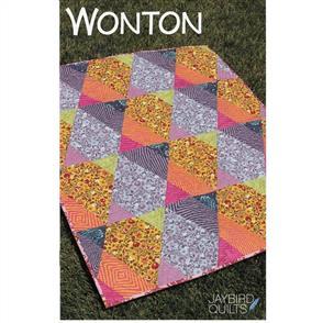 Jaybird Quilts  Wonton - Quilting Pattern