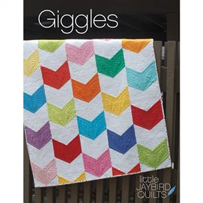 Jaybird Quilts  Giggles Baby Quilt - Quilting Pattern