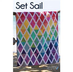 Jaybird Quilts  Set Sail - Quilt Pattern
