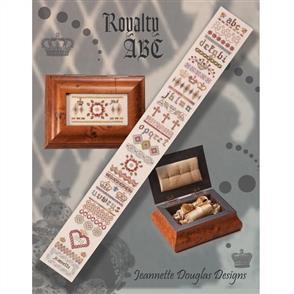 Jeannette Douglas Designs - Royalty ABC Sampler