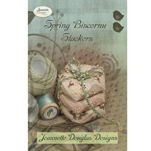Jeannette Douglas Designs - Spring Biscornu Stackers