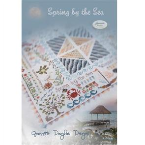Jeannette Douglas  Designs - Spring by the Sea (with threads)