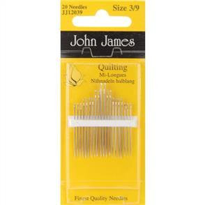 John James  Quilting/Betweens Needles