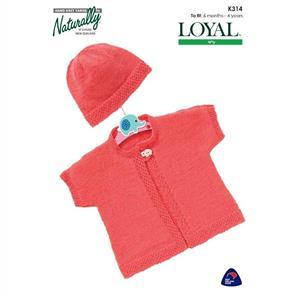 Naturally K314 Vest & Hat