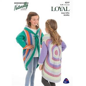 Naturally K319 Circular Jacket