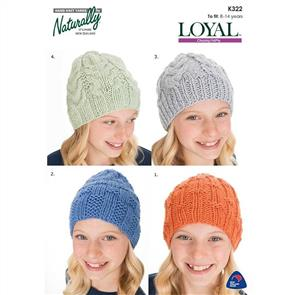 Naturally K322 Four Hats
