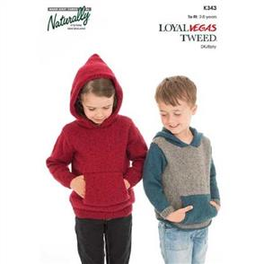 Naturally K343 Hooded Sweater With Pocket