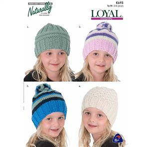 Naturally  K693 Easy Hats