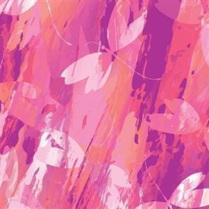 Benartex  Color Calypso - Calypso Dragonfly Pink